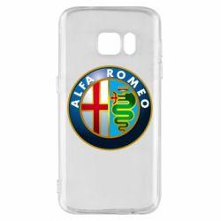 Чехол для Samsung S7 ALFA ROMEO