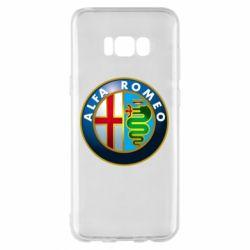 Чехол для Samsung S8+ ALFA ROMEO
