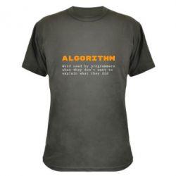 Камуфляжная футболка Algorithm
