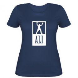 Женская футболка Ali