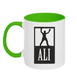 Кружка двухцветная Ali - FatLine