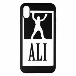 Чехол для iPhone X Ali - FatLine