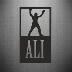 Наклейка Ali - FatLine