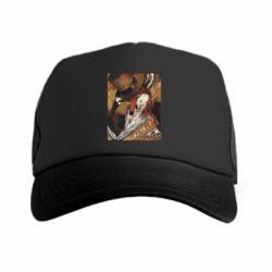Кепка-тракер Alice fox in top hat