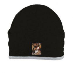 Шапка Alice fox in top hat