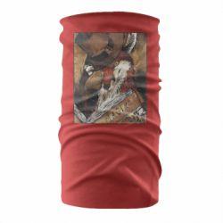 Бандана-труба Alice fox in top hat