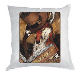 Подушка Alice fox in top hat