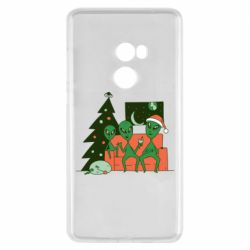 Чехол для Xiaomi Mi Mix 2 Alien and Christmas tree