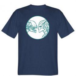 Мужская футболка Alien and Predator
