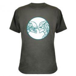 Камуфляжная футболка Alien and Predator