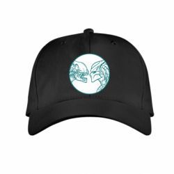 Детская кепка Alien and Predator