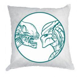 Подушка Alien and Predator