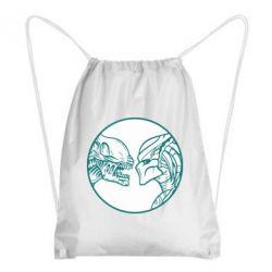Рюкзак-мешок Alien and Predator