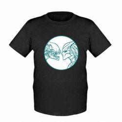 Дитяча футболка Alien and Predator