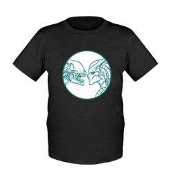 Детская футболка Alien and Predator