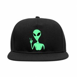 Снепбек Alien and two fingers