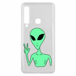 Чехол для Samsung A9 2018 Alien and two fingers