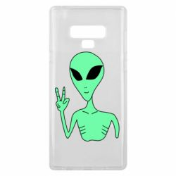 Чехол для Samsung Note 9 Alien and two fingers
