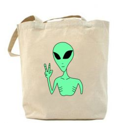 Сумка Alien and two fingers
