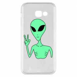 Чехол для Samsung A5 2017 Alien and two fingers