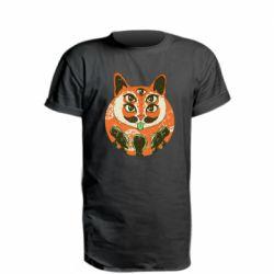 Удлиненная футболка Alien Cat