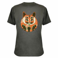 Камуфляжная футболка Alien Cat