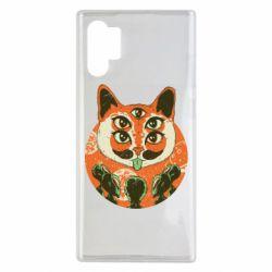 Чехол для Samsung Note 10 Plus Alien Cat