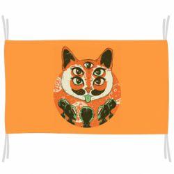 Флаг Alien Cat