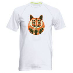 Мужская спортивная футболка Alien Cat