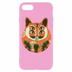 Чехол для iPhone 7 Alien Cat