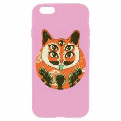 Чехол для iPhone 6/6S Alien Cat