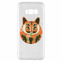 Чехол для Samsung S8 Alien Cat