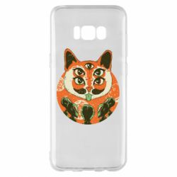 Чехол для Samsung S8+ Alien Cat