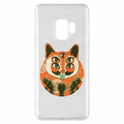 Чехол для Samsung S9 Alien Cat