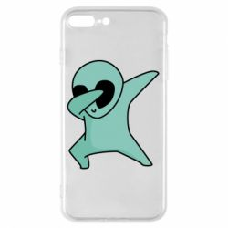Чохол для iPhone 8 Plus Alien dab