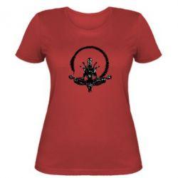 Женская футболка Alien Yoga - FatLine