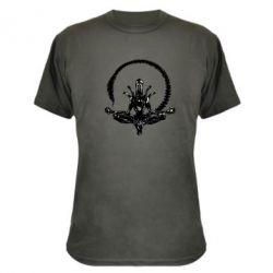 Камуфляжная футболка Alien Yoga - FatLine