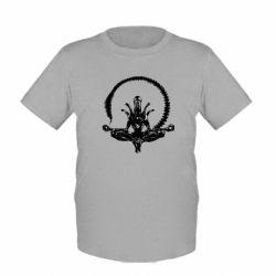 Детская футболка Alien Yoga - FatLine