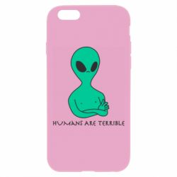 Чехол для iPhone 6 Plus/6S Plus Aliens 1
