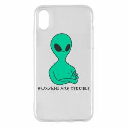 Чехол для iPhone X/Xs Aliens 1