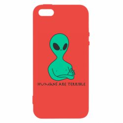 Чехол для iPhone5/5S/SE Aliens 1