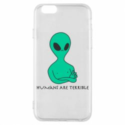 Чехол для iPhone 6/6S Aliens 1