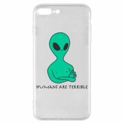 Чехол для iPhone 8 Plus Aliens 1