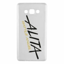 Чохол для Samsung A7 2015 Alita battle angel logo