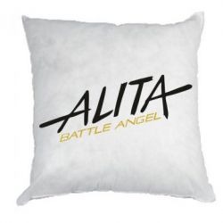 Подушка Alita battle angel logo