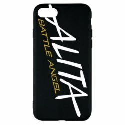 Чохол для iPhone 7 Alita battle angel logo