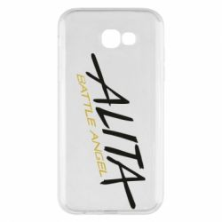 Чохол для Samsung A7 2017 Alita battle angel logo