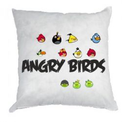 Подушка All Angry Birds - FatLine