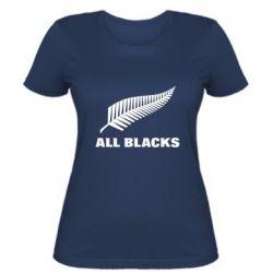 Женская футболка All Blacks