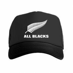 Кепка-тракер All Blacks